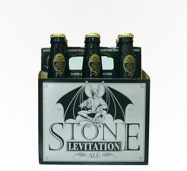 Stone Levitation Beer : Stone levitation ale american amber saucey