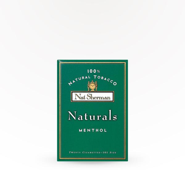 nat sherman naturals menthol saucey